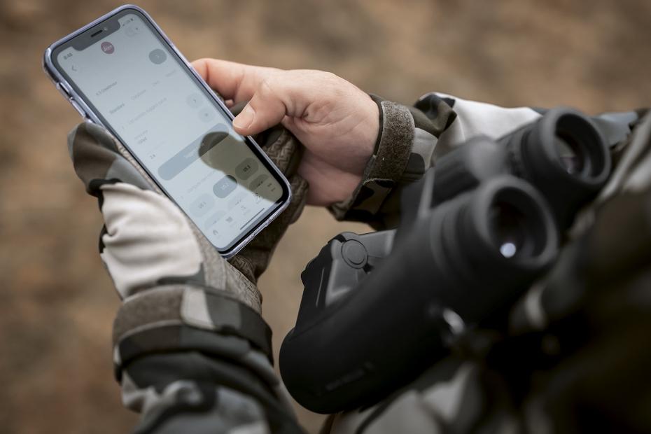 Die Leica Hunting App im Einsatz